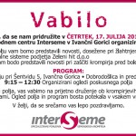 Vabilo Interseme