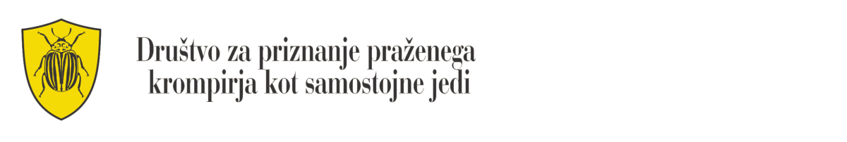 Društvo za priznanje praženega krompirja kot samostojne jedi
